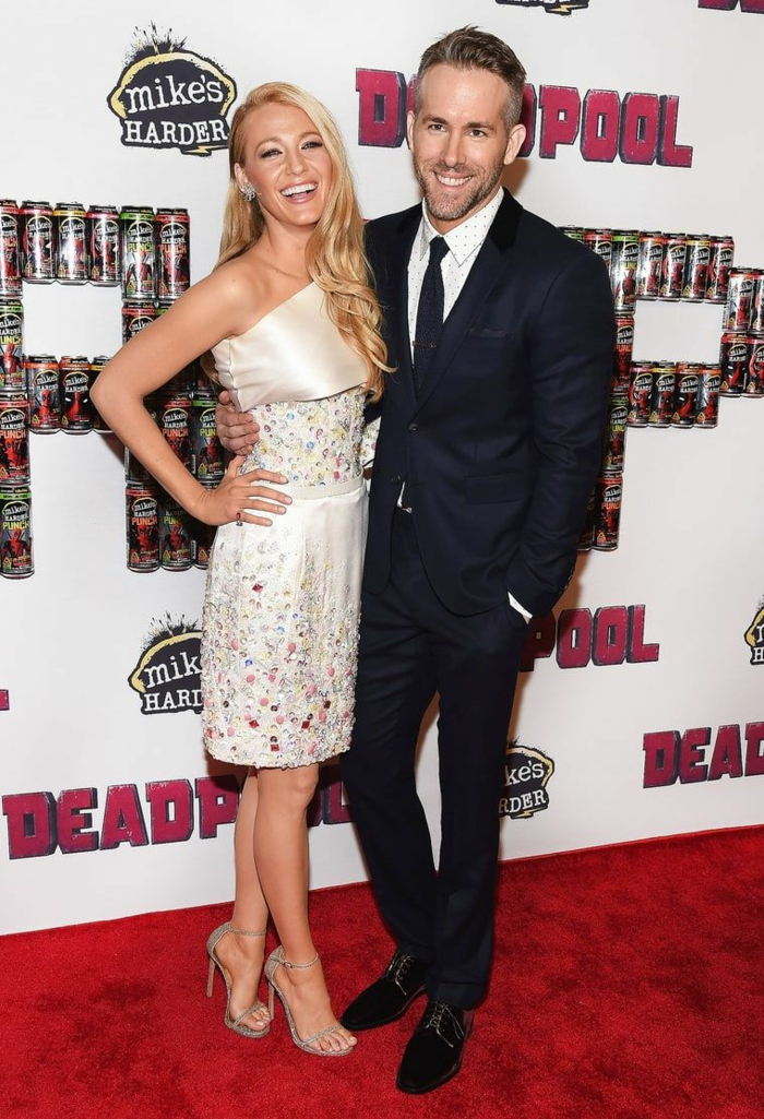 deadpool film acteur ryan reynolds et son épouse blake lively