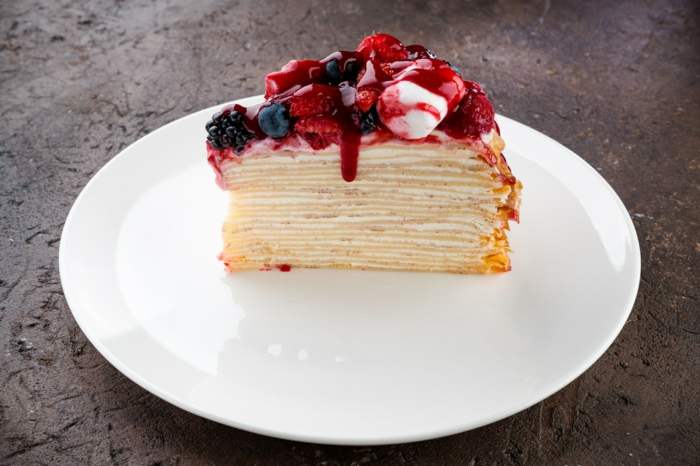 dessert magnifique recette gâteau de crêpes