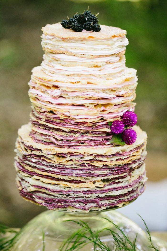 gâteau de mariage recette gâteau de crêpes