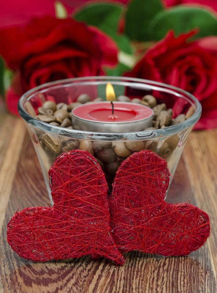 idée magnifique de déco chambre romantique avec des bougies