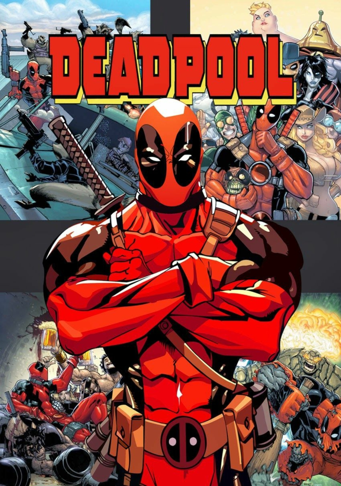 livre comics deadpool