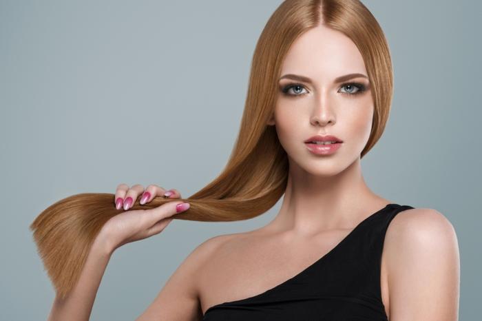 mode femme soin kératine cheveux