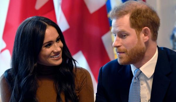 prince harry et sa femme meghan markle