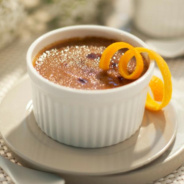 recette crème brûlée à la citrouille