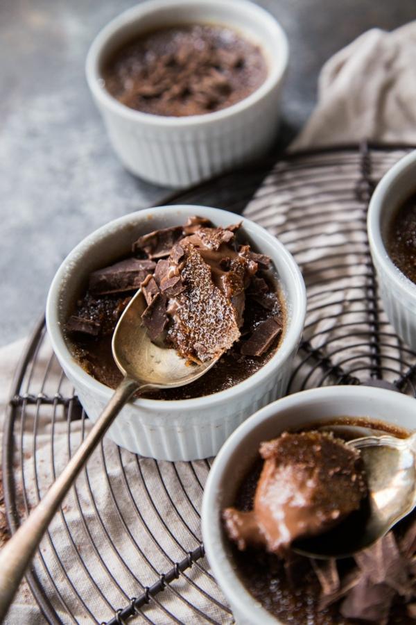 recette crème brûlée au chocolat