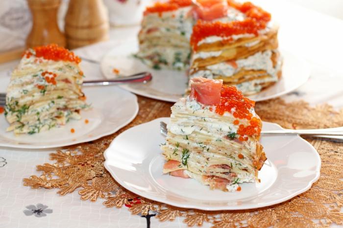 recette gâteau de crêpes idée