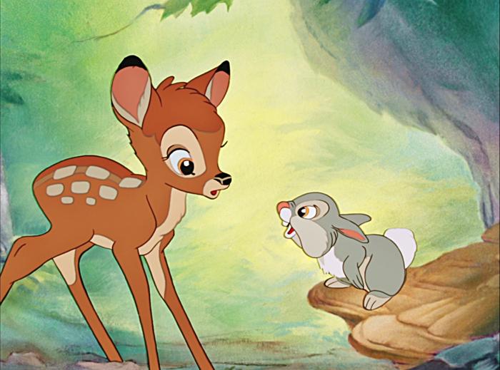 remake film d'animation disney bambi