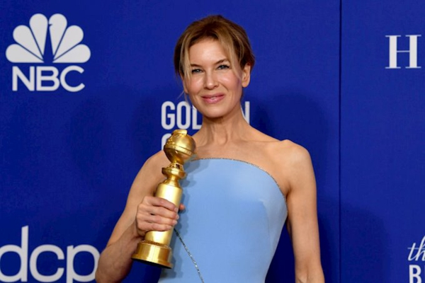 renée zellweger judy golden globe awards 2020