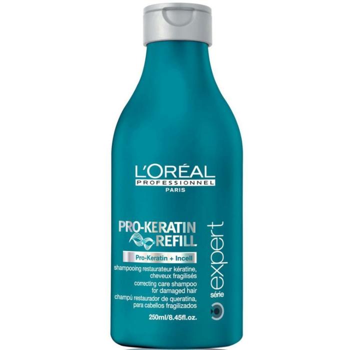 shampoing l'oréal soin kératine