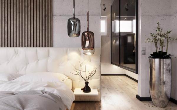 tendances chambre 2020 linge de lit en matières naturelles accents déco en métal