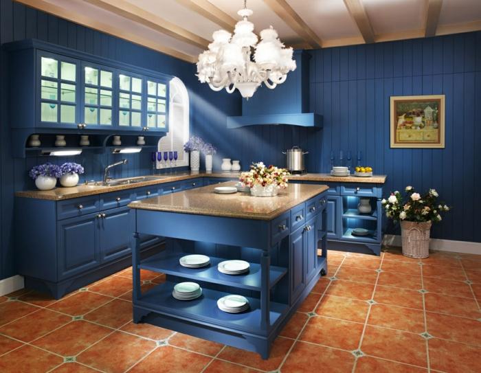 total look bleu cuisine bleu classique idée
