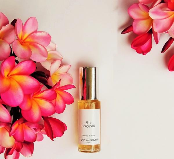 arômes naturels frangipan rose