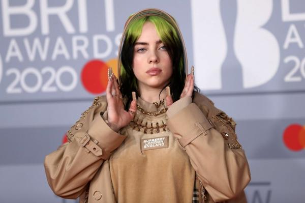 Brit Awards 2020 tapis rouge Billie Eilish