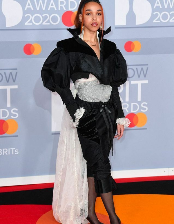 Brit Awards 2020 tapis rouge FKA Twings