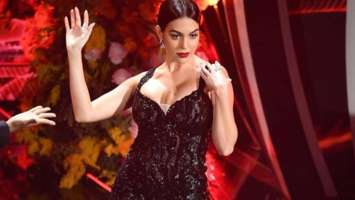 Georgina Rodriguez belle danseuse