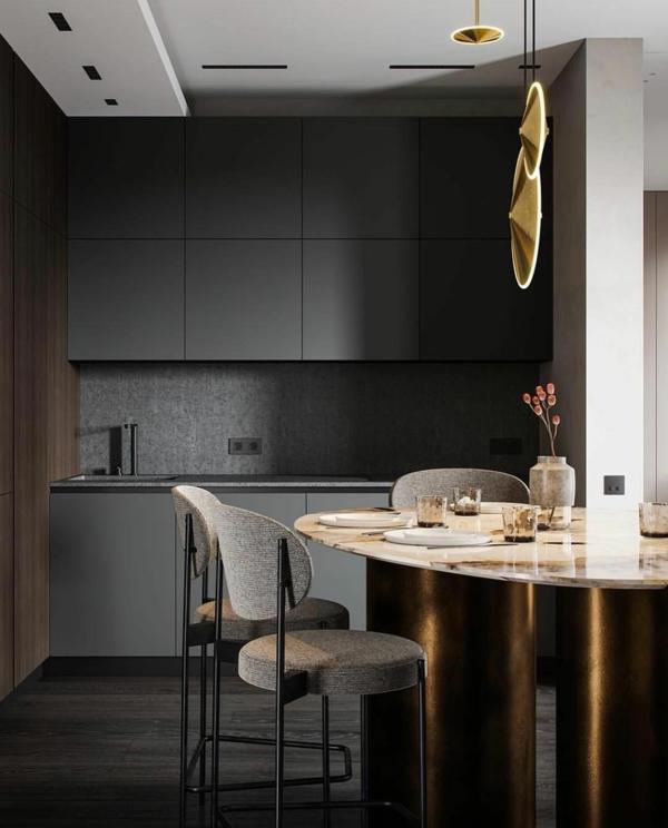 Tendances salle à manger 2020 couleur gris chaud