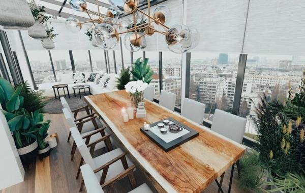 Tendances salle à manger 2020 style industriel loggia