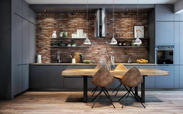 Tendances salle à manger 2020 style industriel