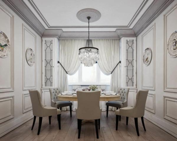 Tendances salle à manger 2020 table ronde en bois