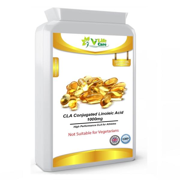coupe faim naturel CLA Conjugated Linoleic Acid pack