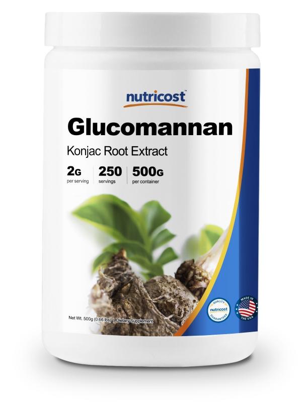 coupe faim naturel du gluccomannane
