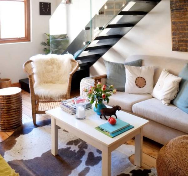 déco petit appartement escalier intérieur