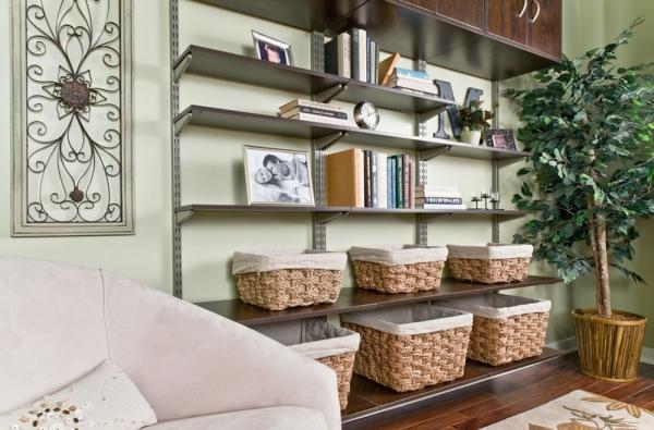 déco petit appartement un canapé incliné