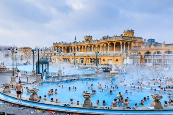 destination thermale Szechenyi bain Budapest
