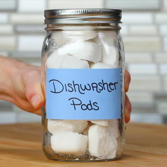 diy pastille lave-vaisselle maison recette économique et zéro déchet