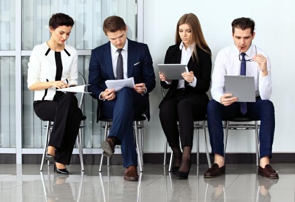 entretien d'embauche candidats