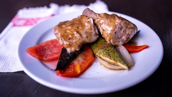 estragon poulet aux légumes