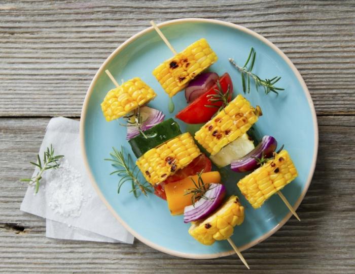 légumes grillés brunch de pâques