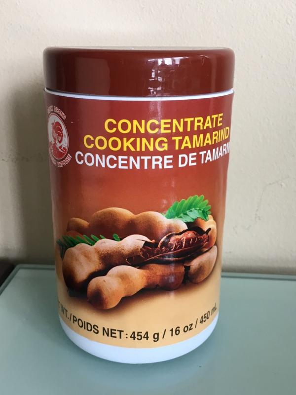 le fruit tamarin produit concentré