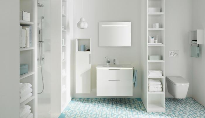 meubles salle de bains suspendus home staging salle de bain