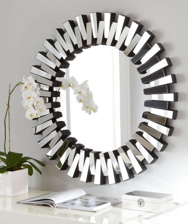 miroir décoratif mural comme un clavier