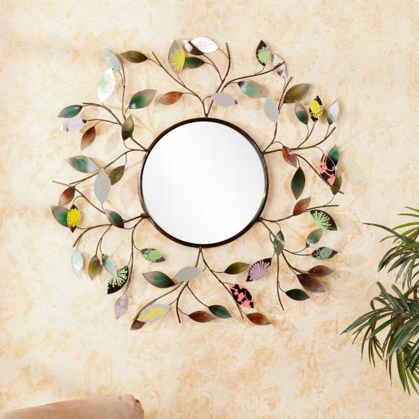 miroir décoratif mural décoré facilement