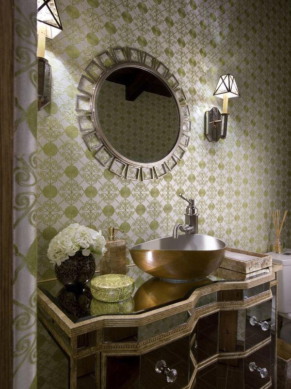 miroir décoratif mural design unique
