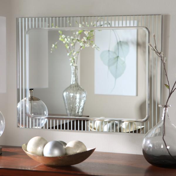miroir décoratif mural en verre