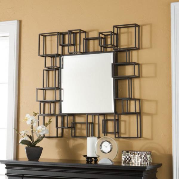 miroir décoratif mural miroir au milieu