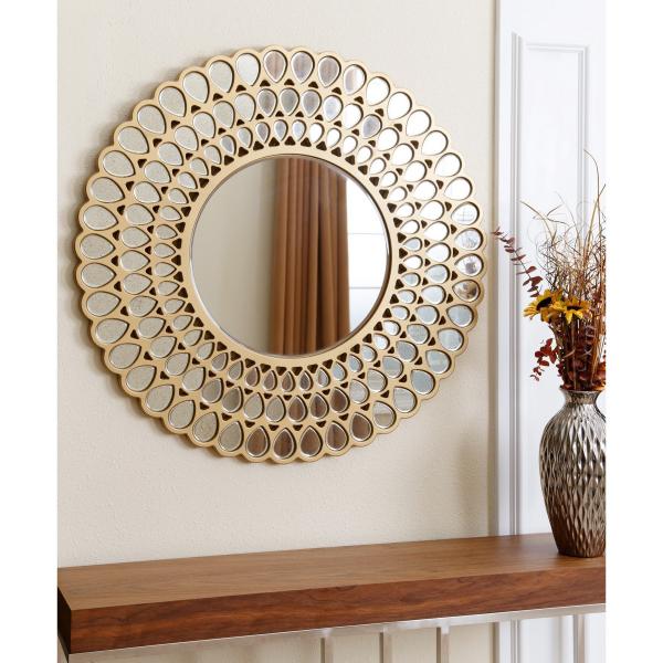miroir décoratif mural multiples miroirs