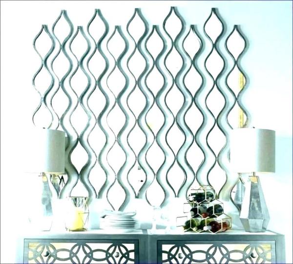 miroir décoratif mural pour un grand mur