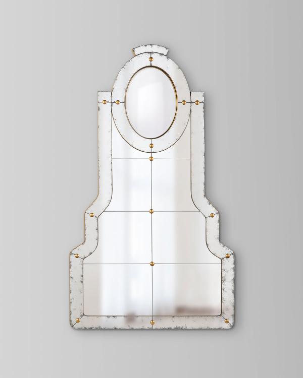 miroir décoratif mural remarquable de forme