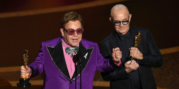 oscars 2020 Elton John et Bernie Taupin