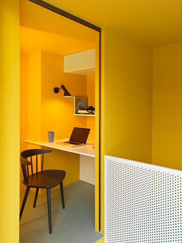 peinture appartement cabinet de travail