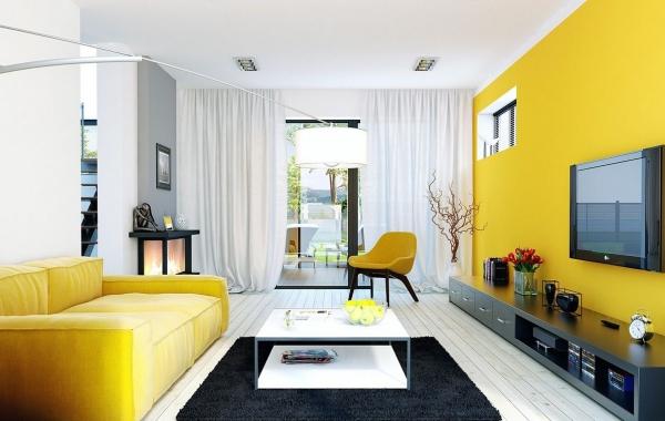 peinture appartement canapé fauteuil et mur