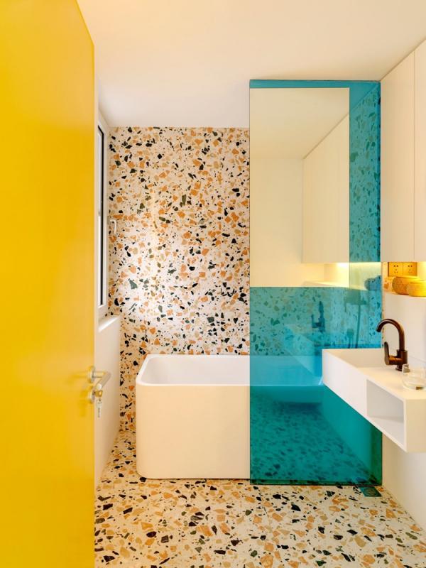 peinture appartement salle de bain