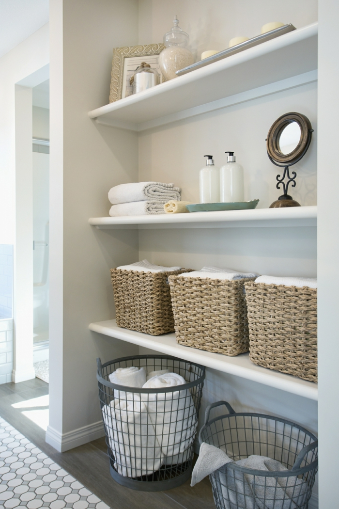 ranger l'espace conseils home staging salle de bain