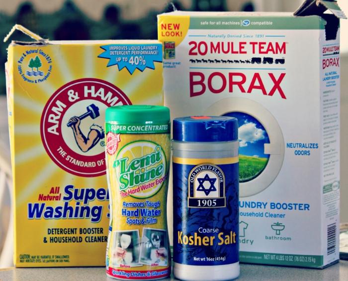 recette écolo de pastille lave-vaisselle maison avec du borax
