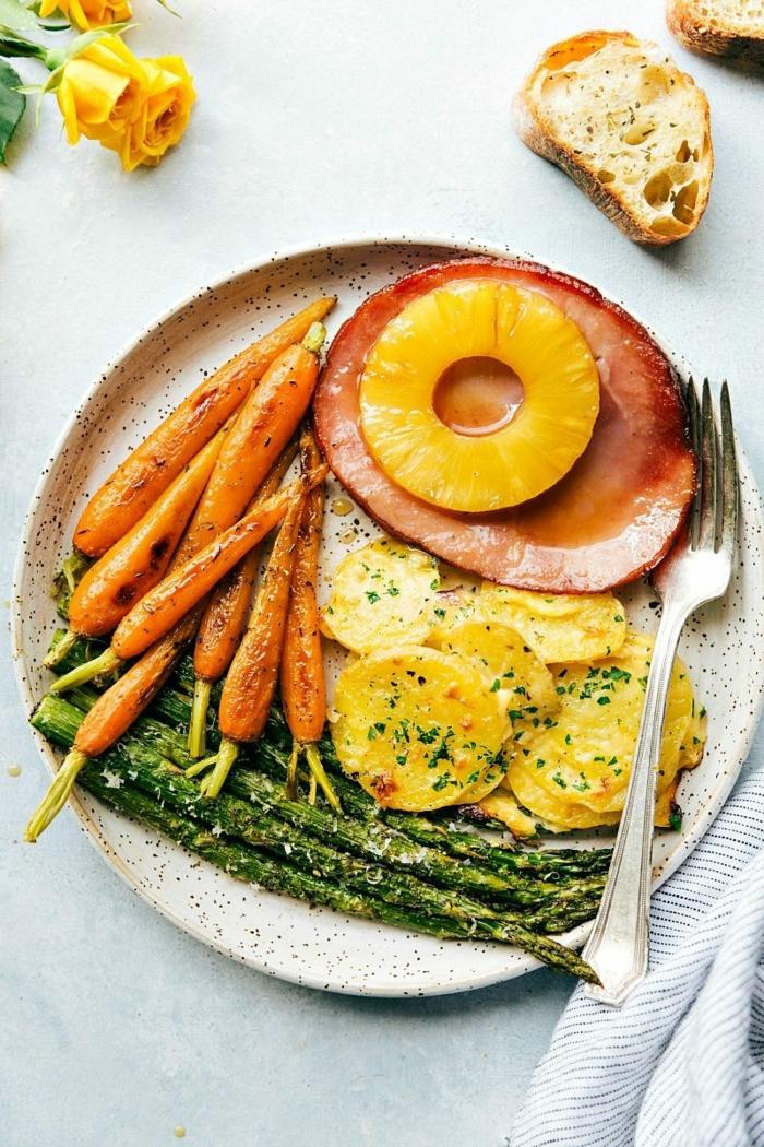 repas délicieux brunch de pâques idée pour surprendre vos invités