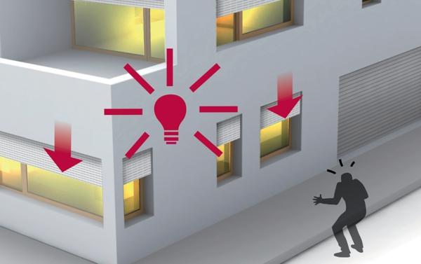système domotique contrôle éclairage